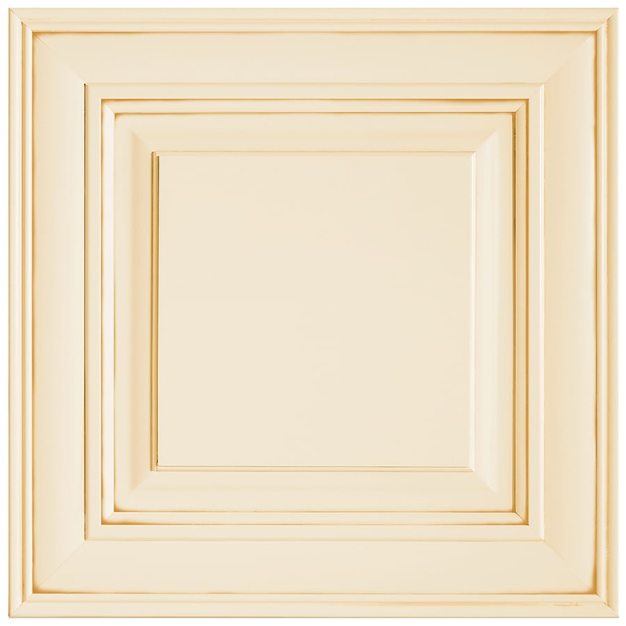 Shenandoah McKinley 14.5625-in x 14.5-in Butterscotch Glaze Maple Raised Panel Cabinet Sample