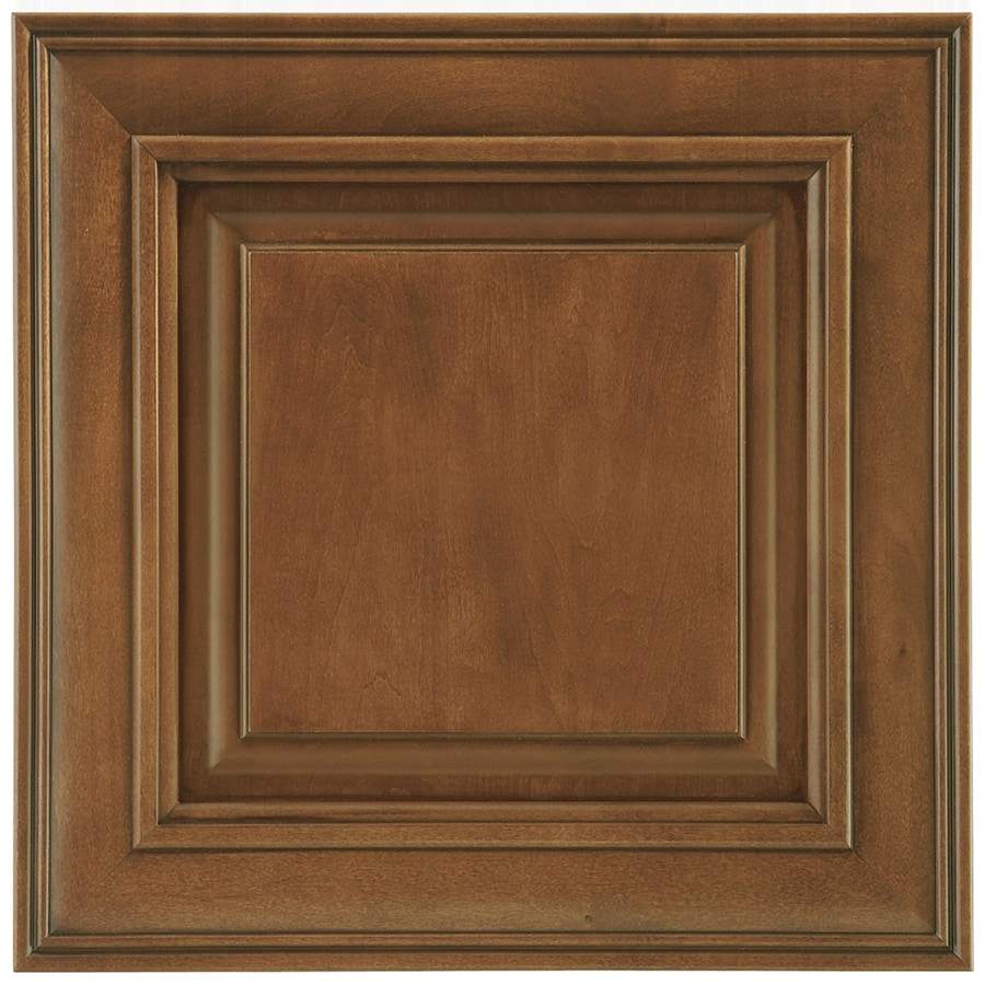 Shenandoah McKinley 14.5625-in x 14.5-in Auburn Glaze Maple Raised Panel Cabinet Sample