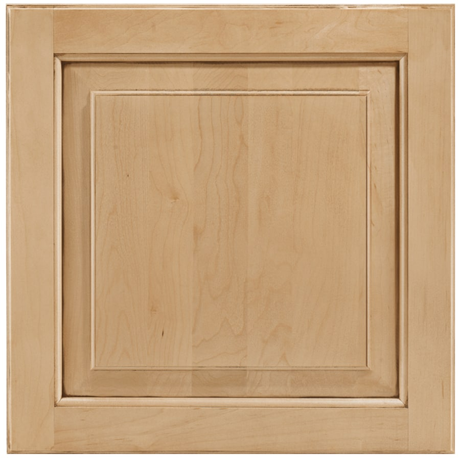 Shenandoah W-inter 14.5625-in x 14.5-in Coffee Glaze Maple Raised Panel Cabinet Sample