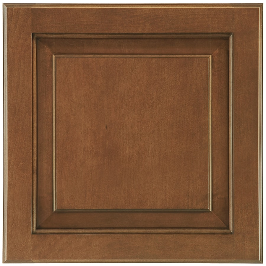 Shenandoah Winchester 14.5-in x 14.5625-in Auburn Glaze Maple Square Cabinet Sample