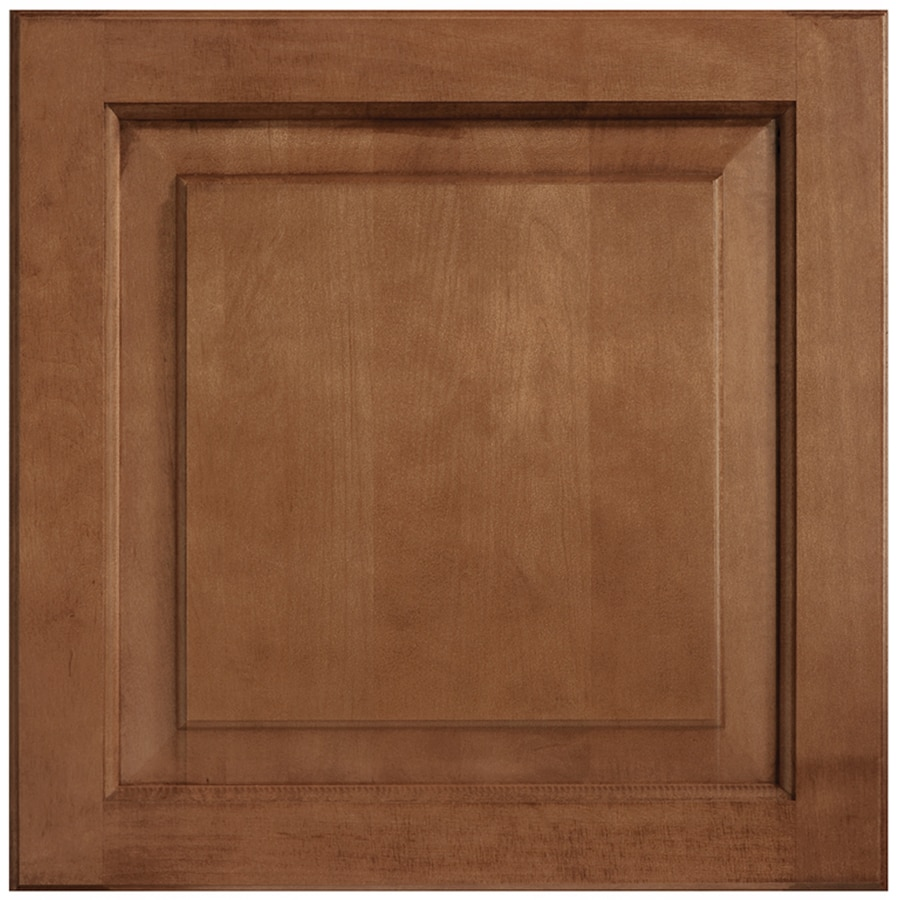 Shenandoah W-inter 14.5625-in x 14.5-in Cognac Maple Raised Panel Cabinet Sample