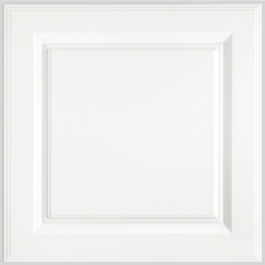 Shenandoah Grove 12.875-in x 13-in White Engineered Wood Raised Panel Cabinet Sample