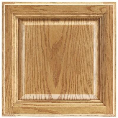 Bluemont 12.875-in W x 13-in H x D Honey Oak Kitchen Cabinet Sample