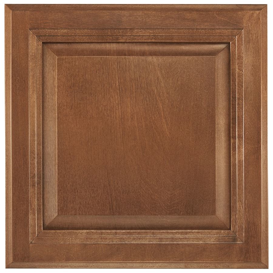 Shenandoah Bluemont 12.875-in x 13-in Cognac Maple Raised Panel Cabinet Sample