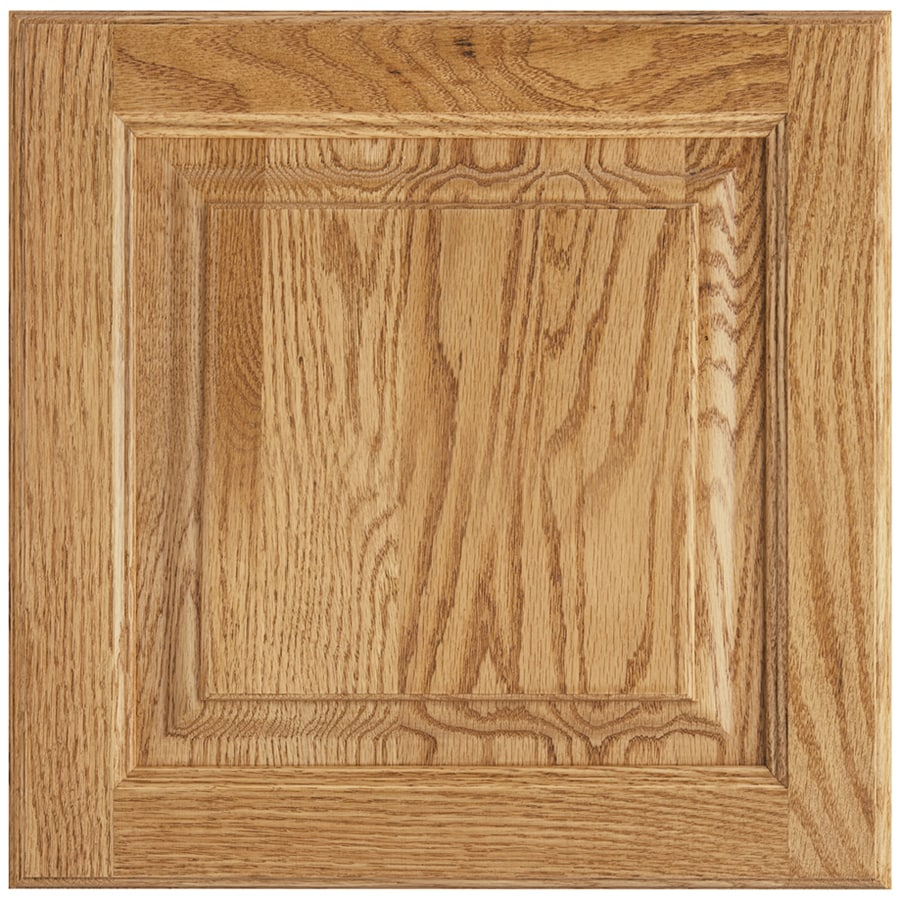 Shenandoah Grove 13-in x 12.875-in Honey Oak Square Cabinet Sample