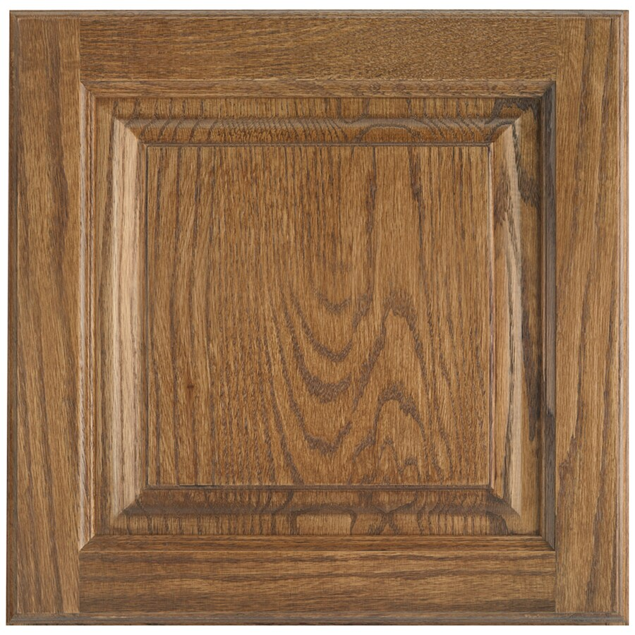 Merveilleux Shenandoah Grove 12.875 In X 13 In Tawny Oak Raised Panel Cabinet Sample