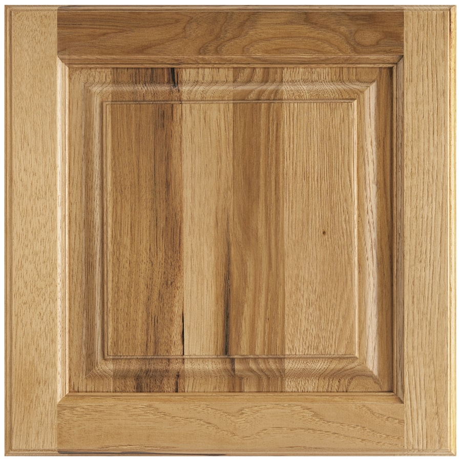Shenandoah Grove 13-in x 12.875-in Spice Stained Hickory Square Cabinet Sample