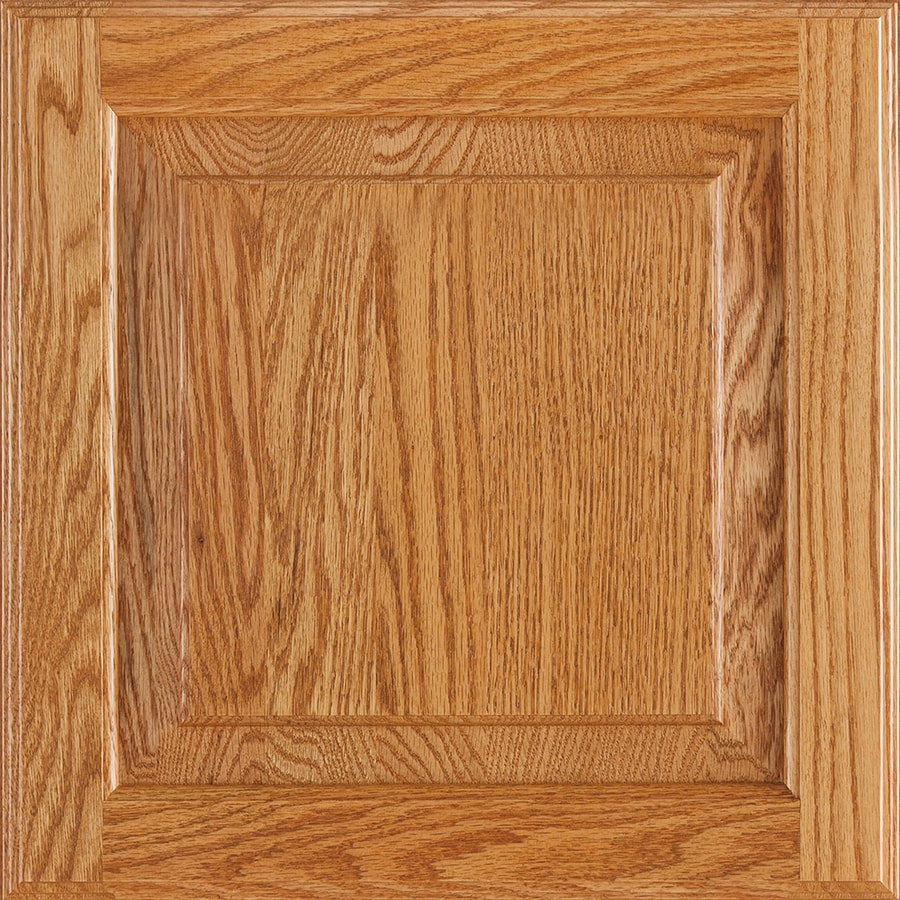 Ordinaire Shenandoah Winchester 14.5625 In X 14.5 In Honey Oak Raised Panel Cabinet  Sample