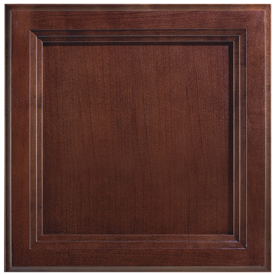 Shenandoah Dominion 12.875-in x 13-in Bordeaux Cherry Flat Panel Cabinet Sample