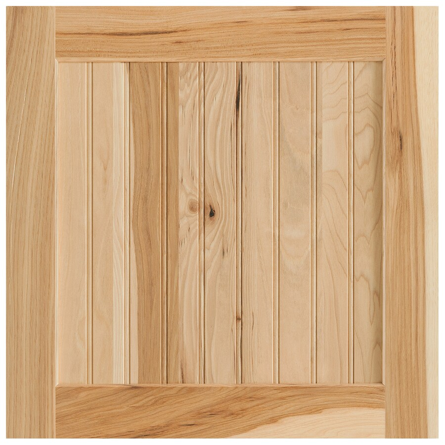Shenandoah Cottage 14.5-in x 14.5-in Natural Hickory Square Cabinet Sample