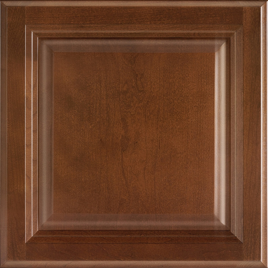 Shenandoah Bluemont 12.875-in x 12.875-in Spice Cherry Square Cabinet Sample