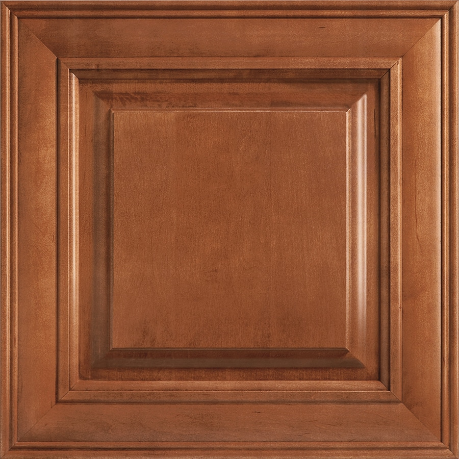 Shenandoah Mckinley 14.5-in x 14.5625-in Cognac Maple Square Cabinet Sample