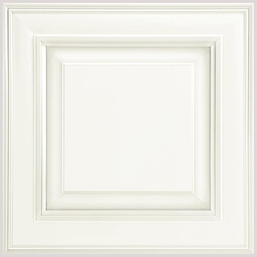 Shenandoah McKinley 14.5625-in x 14.5-in Linen Maple Raised Panel Cabinet Sample