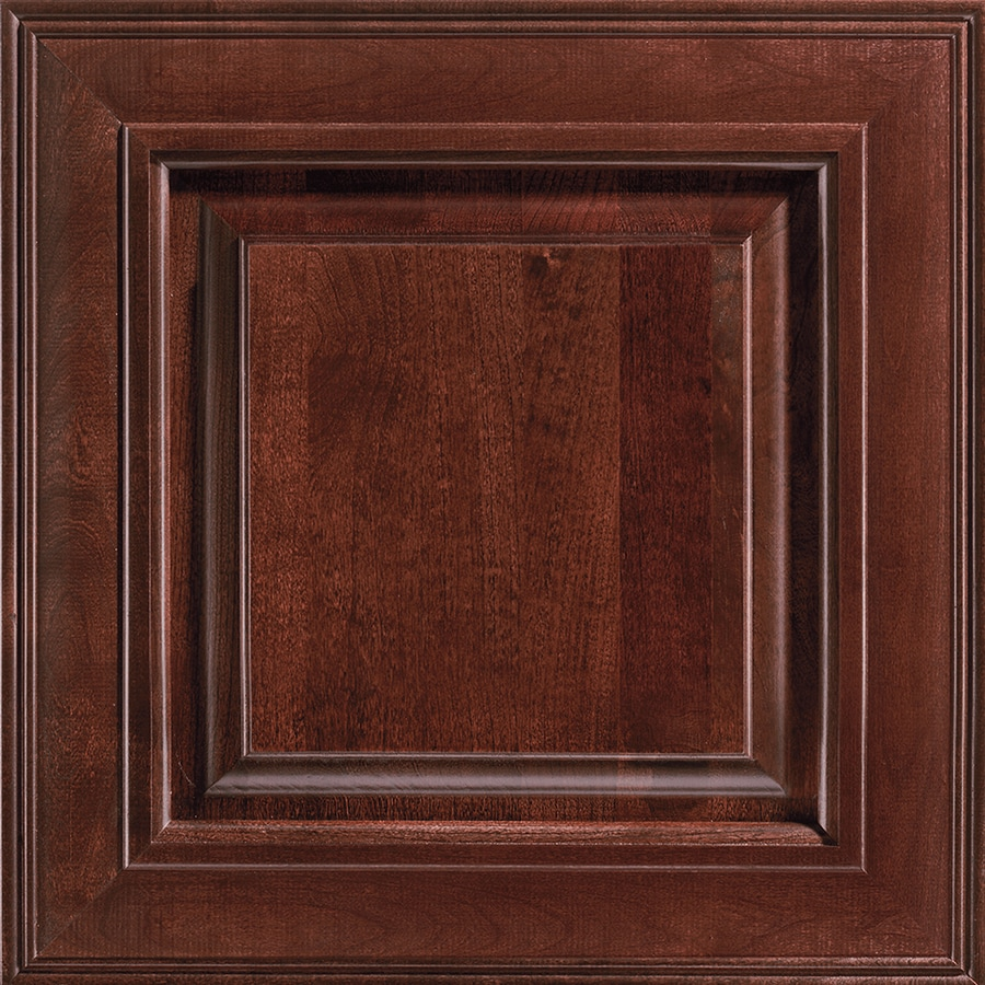 Shenandoah Mckinley 14 5625 In X 14 5 In Bordeaux Cherry Raised Panel Cabinet Sample At Lowes Com
