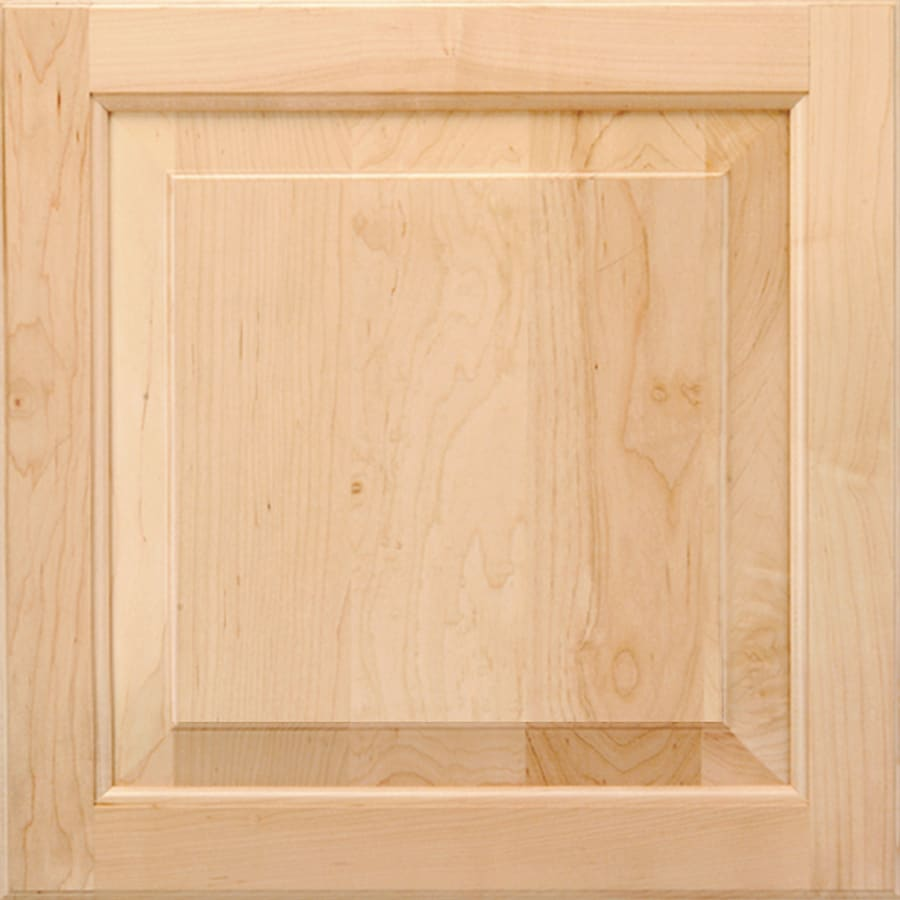 Shenandoah W-inter 14.5625-in x 14.5-in Natural Maple Raised Panel Cabinet Sample