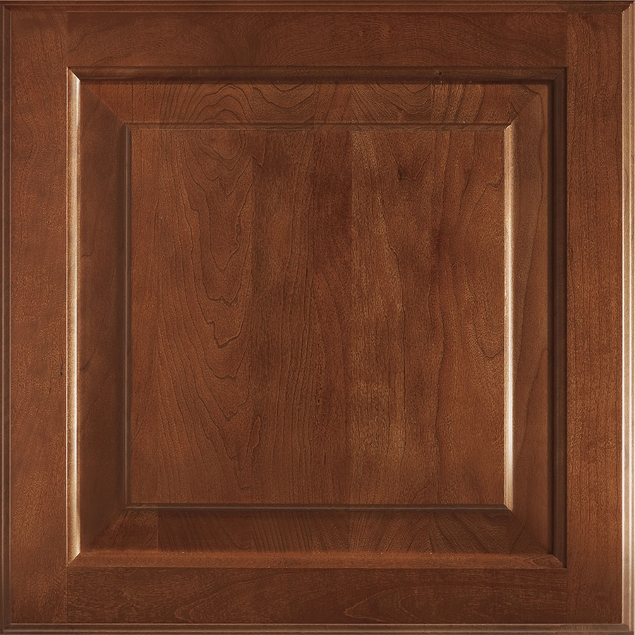 Shenandoah Winchester 14.5625-in x 14.5-in Spice Cherry Raised Panel Cabinet Sample