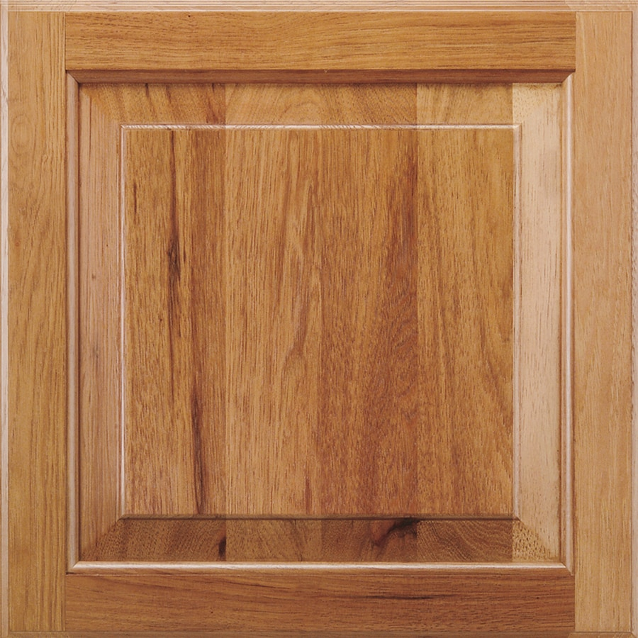 Shenandoah Winchester 14.5-in x 14.5625-in Spice Hickory Square Cabinet Sample