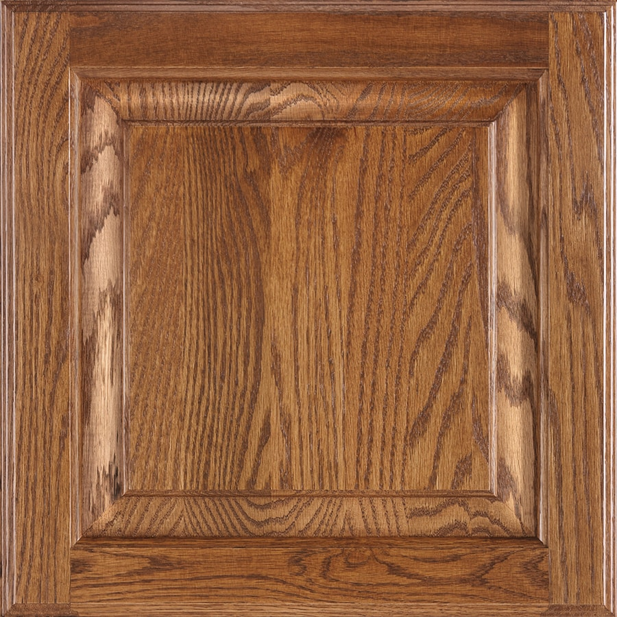 Shenandoah Winchester 14.5-in x 14.5625-in Tawny Oak Square Cabinet Sample