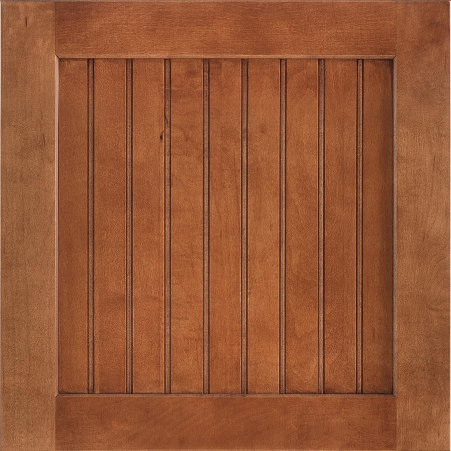Shenandoah Cottage 14.5-in x 14.5625-in Cognac Maple Square Cabinet Sample