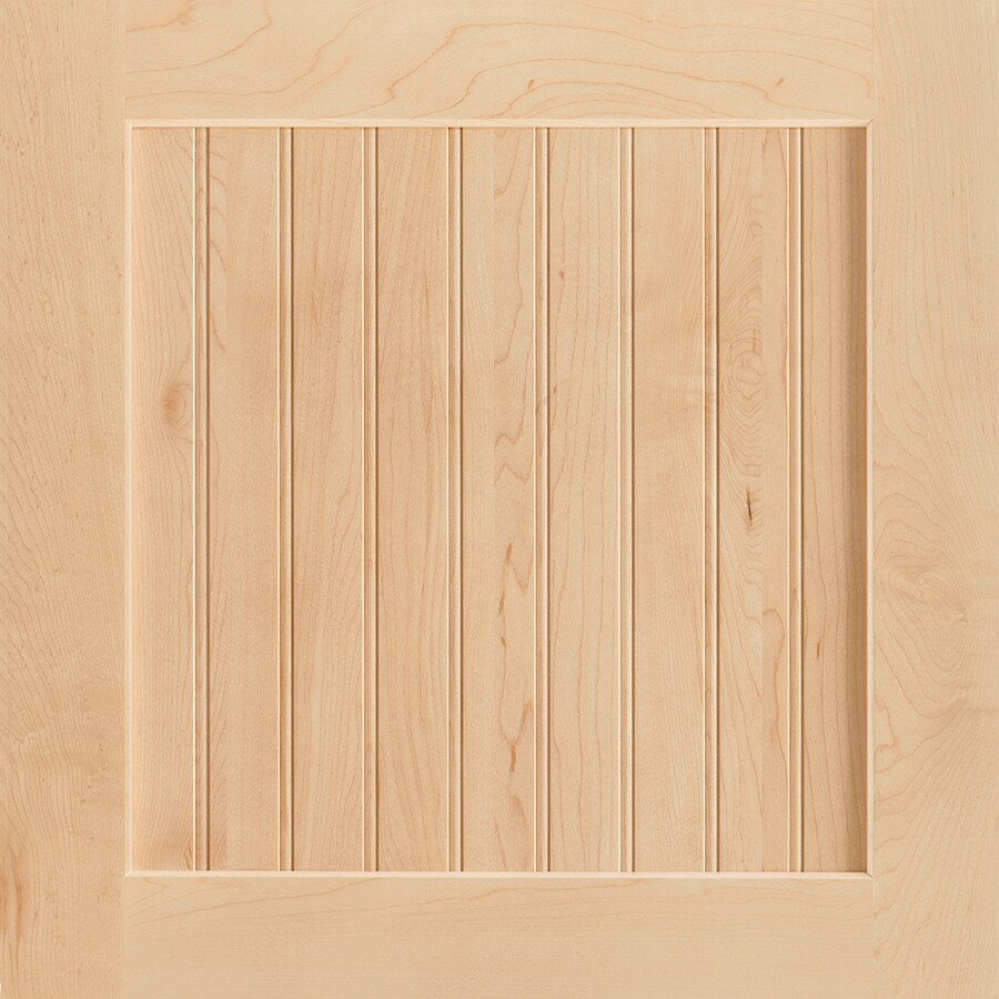 Shenandoah Cottage 14.5625-in x 14.5-in Natural Maple Beadboard Cabinet Sample