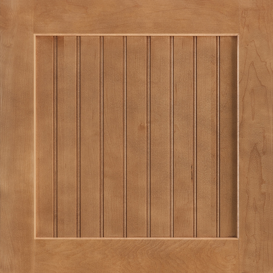 Shenandoah Cottage 14.5-in x 14.5625-in Spice Maple Square Cabinet Sample