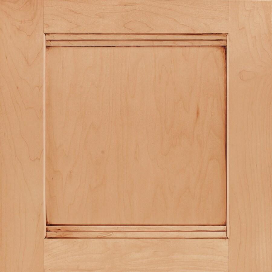 Shenandoah Solana 14.5-in x 14.5625-in Coffee Glaze Maple Square Cabinet Sample