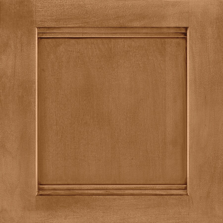 Shenandoah Solana 14.5625-in x 14.5-in Mocha Glaze Maple Flat Panel Cabinet Sample