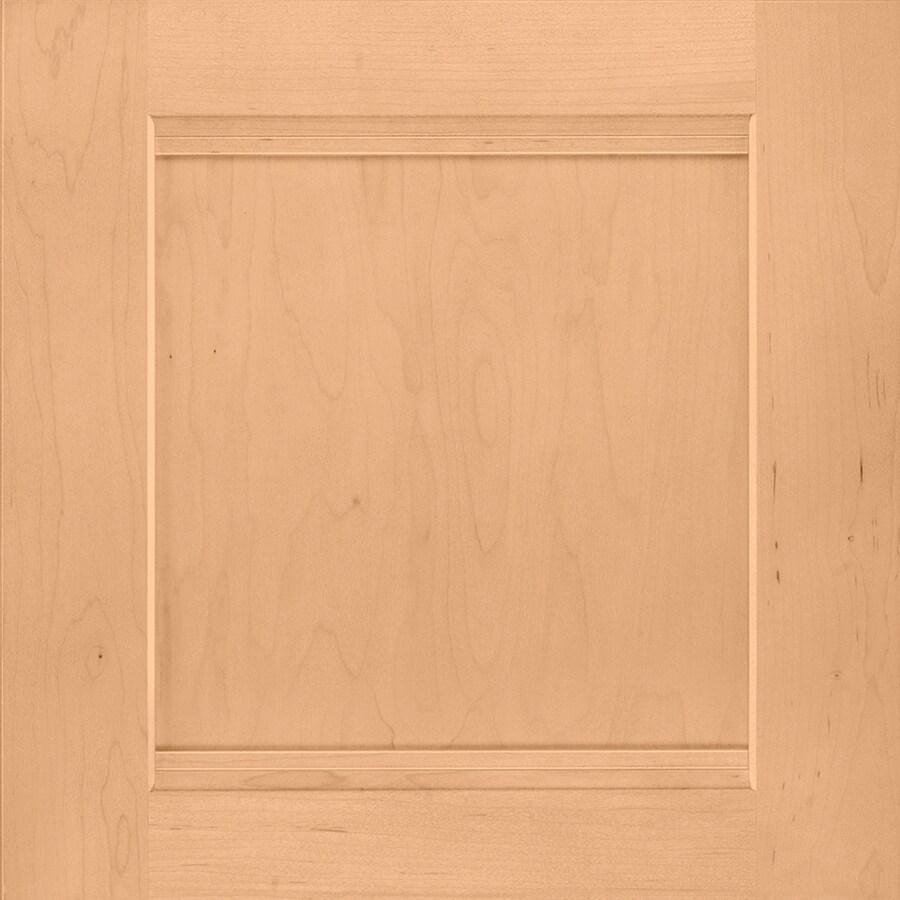 Shenandoah Solana 14.5-in x 14.5625-in Wheat Maple Square Cabinet Sample