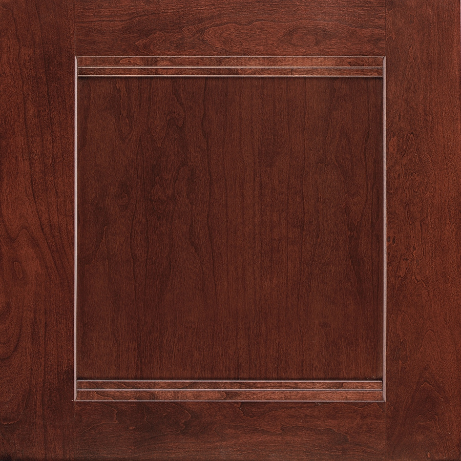 Shenandoah Solana 14.5625-in x 14.5-in Bordeaux Cherry Flat Panel Cabinet Sample