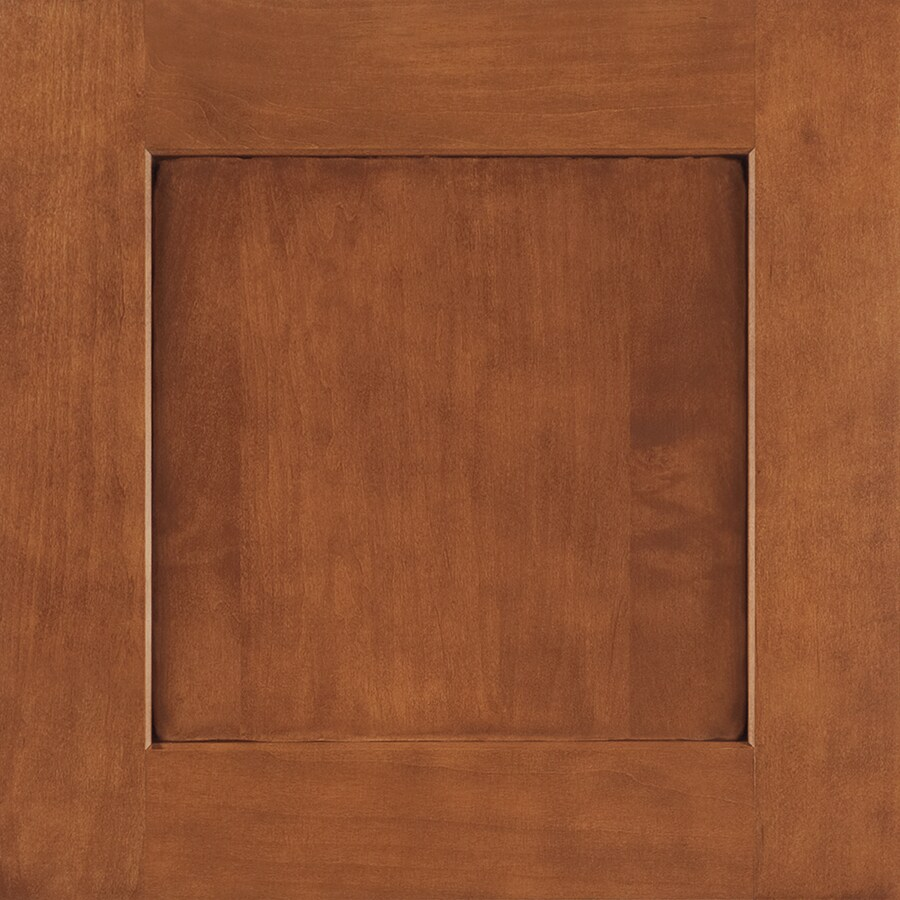 Shenandoah Mission 14.5625-in x 14.5-in Auburn Glaze Maple Shaker Cabinet Sample