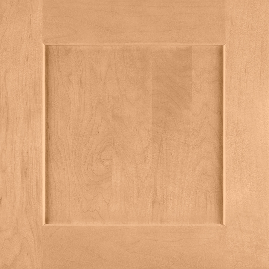 Shenandoah Mission 14.5-in x 14.5625-in Wheat Maple Square Cabinet Sample