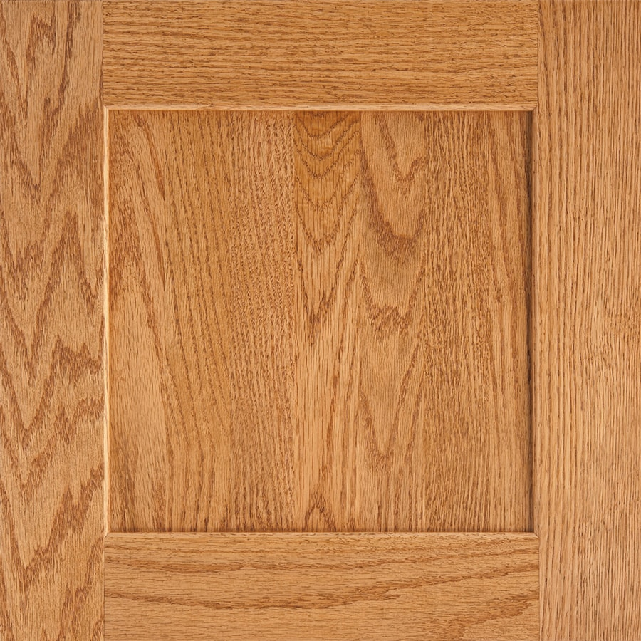 Shenandoah Mission 14.5-in x 14.5625-in Honey Oak Square Cabinet Sample