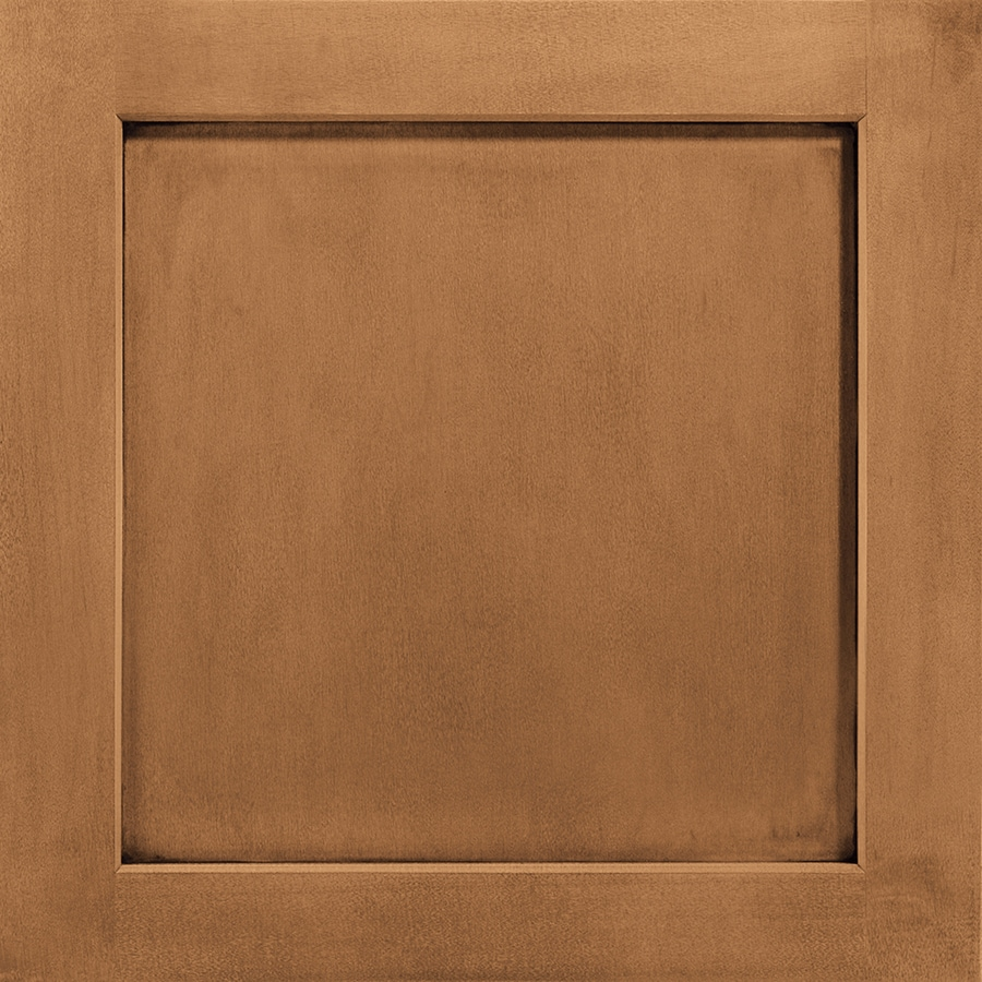 Shenandoah Breckenridge 14.5-in x 14.5625-in Mocha Glaze Maple Square Cabinet Sample