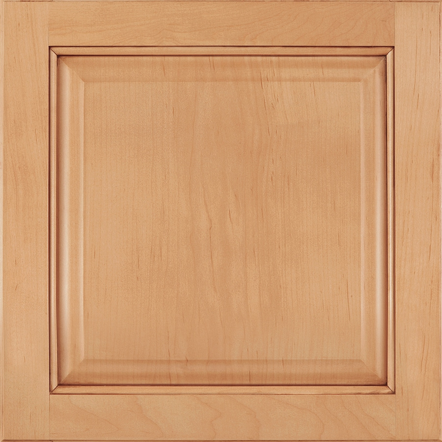 Shenandoah Orchard 14.5625-in x 14.5-in Coffee Glaze Maple Raised Panel Cabinet Sample
