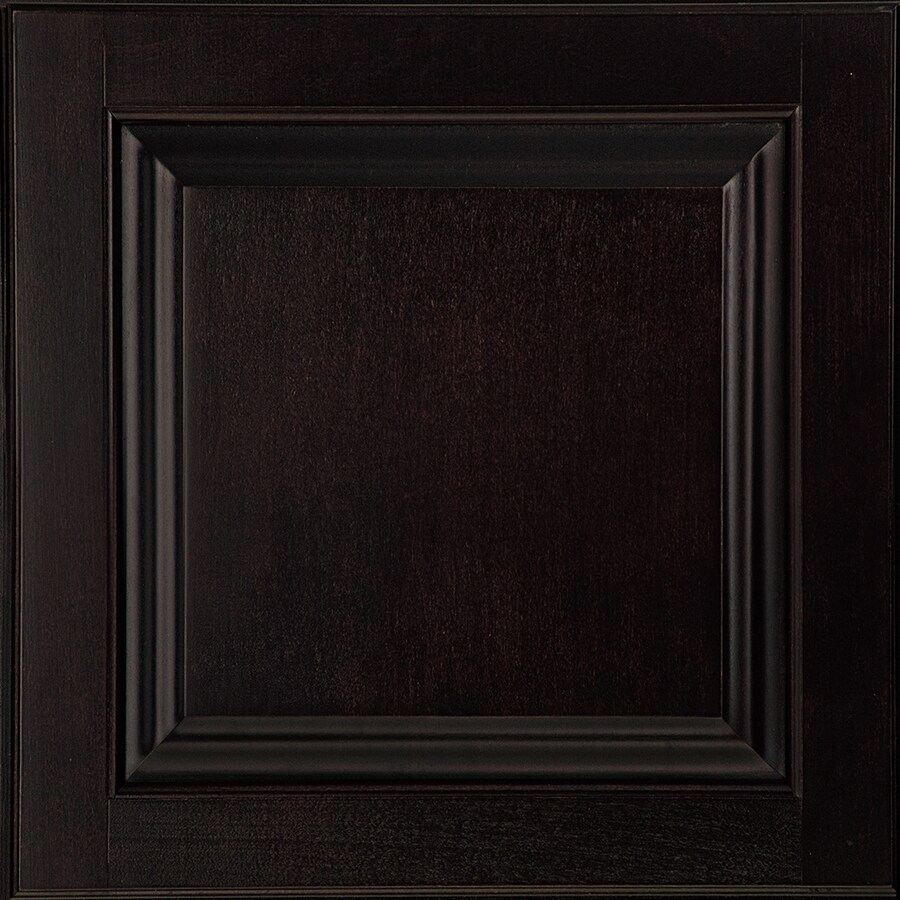 Shenandoah Orchard 14.5-in x 14.5625-in Espresso Maple Square Cabinet Sample