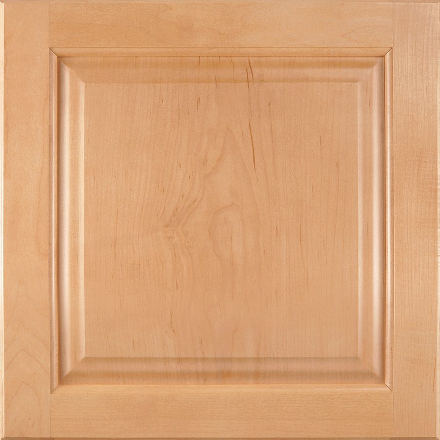 Shenandoah Orchard 14.5625-in x 14.5-in Wheat Maple Raised Panel Cabinet Sample
