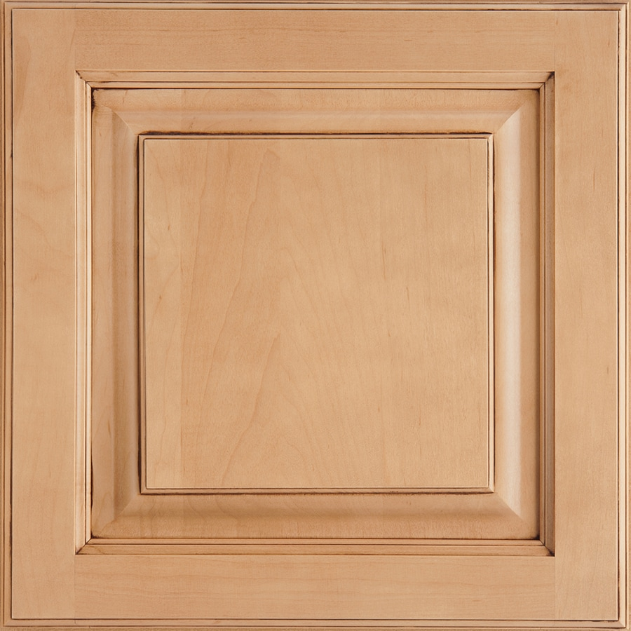 Shenandoah Grove 14.5625-in x 14.5-in Coffee Glaze Maple Raised Panel Cabinet Sample
