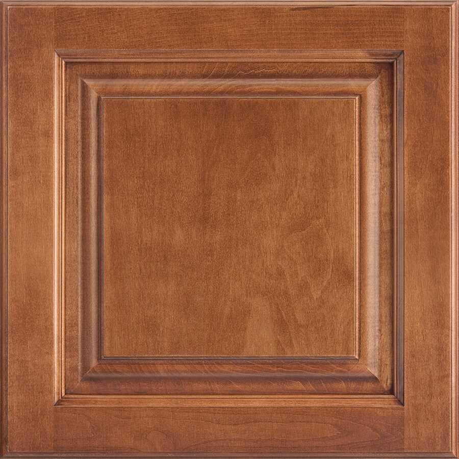 Shenandoah Grove 14.5625-in x 14.5-in Cognac Maple Raised Panel Cabinet Sample