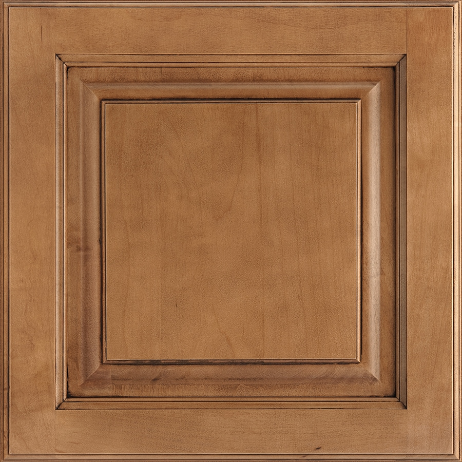 Shenandoah Grove 14.5-in x 14.5625-in Mocha Glaze Maple Square Cabinet Sample