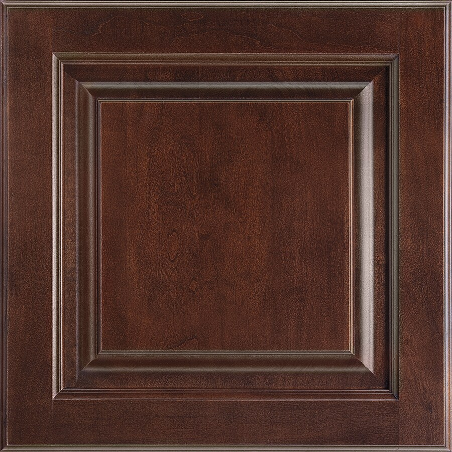 Shenandoah Grove 14.5625-in x 14.5-in Bordeaux Cherry Raised Panel Cabinet Sample