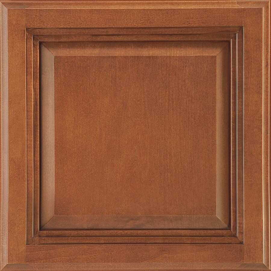 Shenandoah Bluemont 14.5-in x 14.5625-in Auburn Glaze Maple Square Cabinet Sample