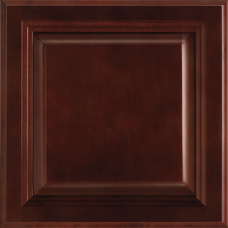 Shenandoah Bluemont 13-in x 14.5-in Bordeaux Cherry Square Cabinet Sample