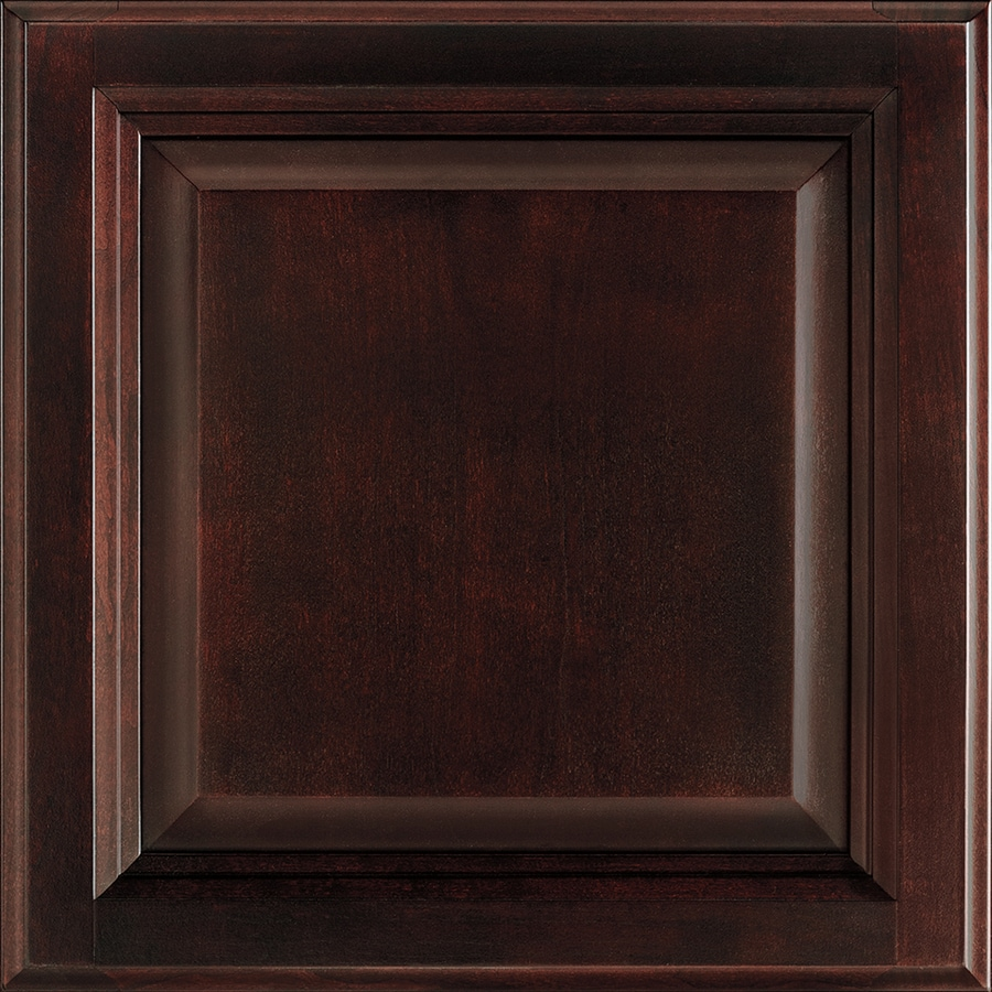 Shenandoah Bluemont 14.5-in x 13-in Java Cherry Raised Panel Cabinet Sample