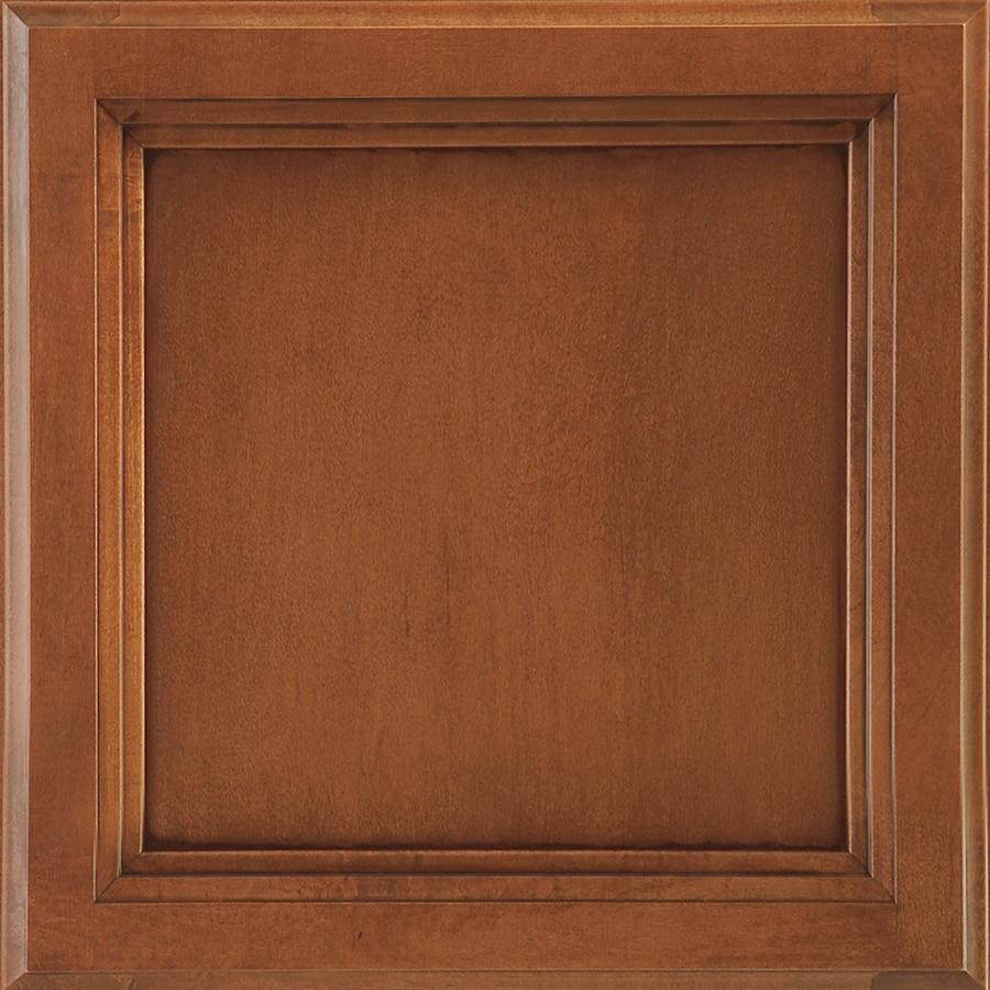 Shenandoah Dominion 14.5-in x 14.5625-in Auburn Glaze Maple Square Cabinet Sample