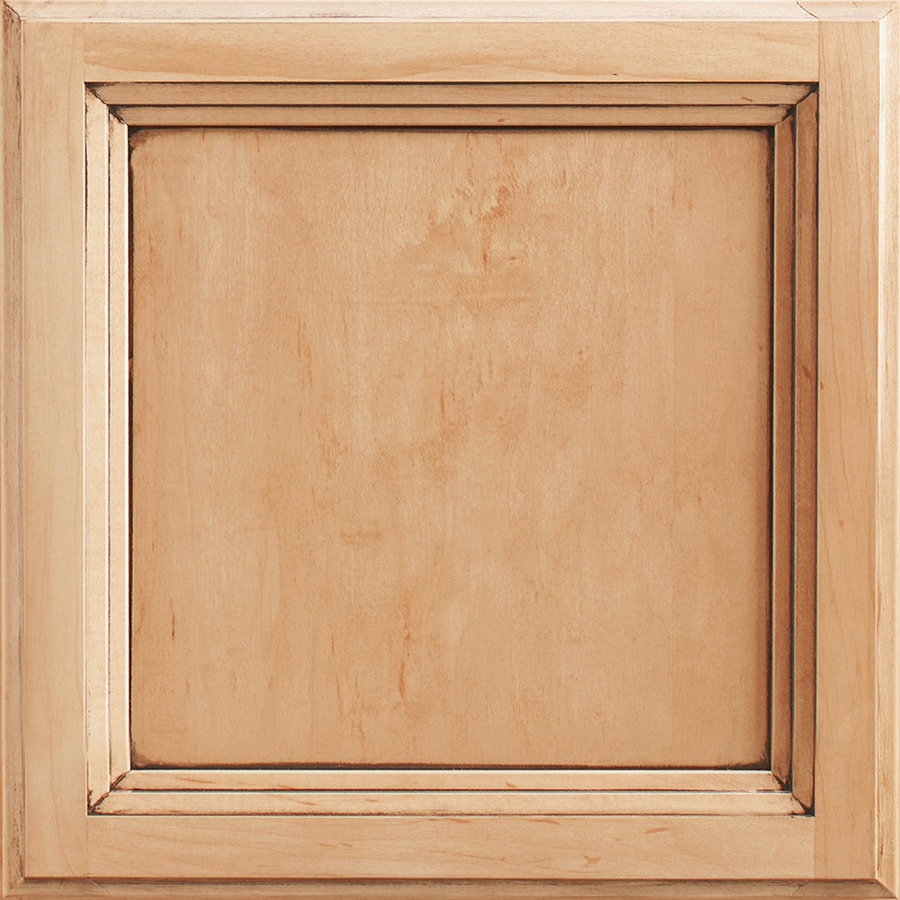 Shenandoah Dominion 14.5-in x 14.5625-in Coffee Glaze Maple Square Cabinet Sample