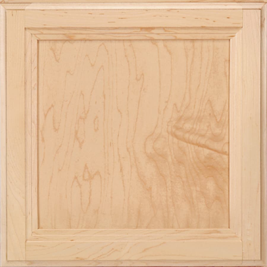 Shenandoah Dominion 14.5625-in x 14.5-in Natural Maple Flat Panel Cabinet Sample