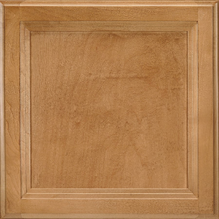 Shenandoah Dominion 14.5625-in x 14.5-in Spice Maple Flat Panel Cabinet Sample