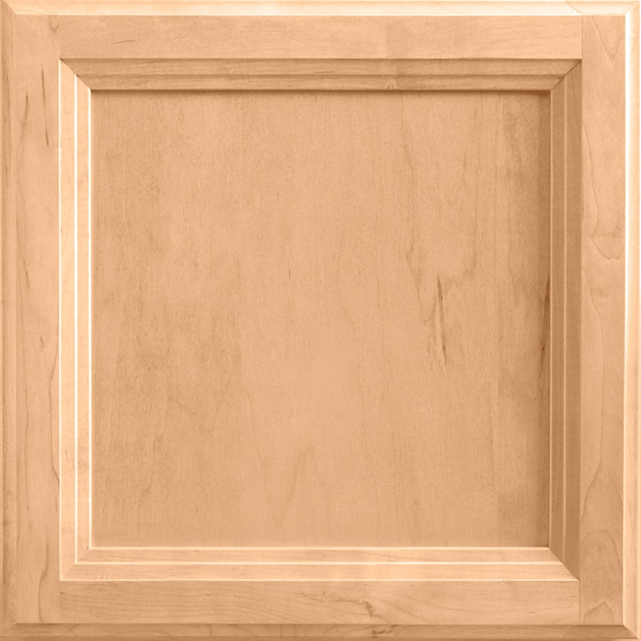 Shenandoah Dominion 14.5-in x 14.5625-in Wheat Maple Square Cabinet Sample