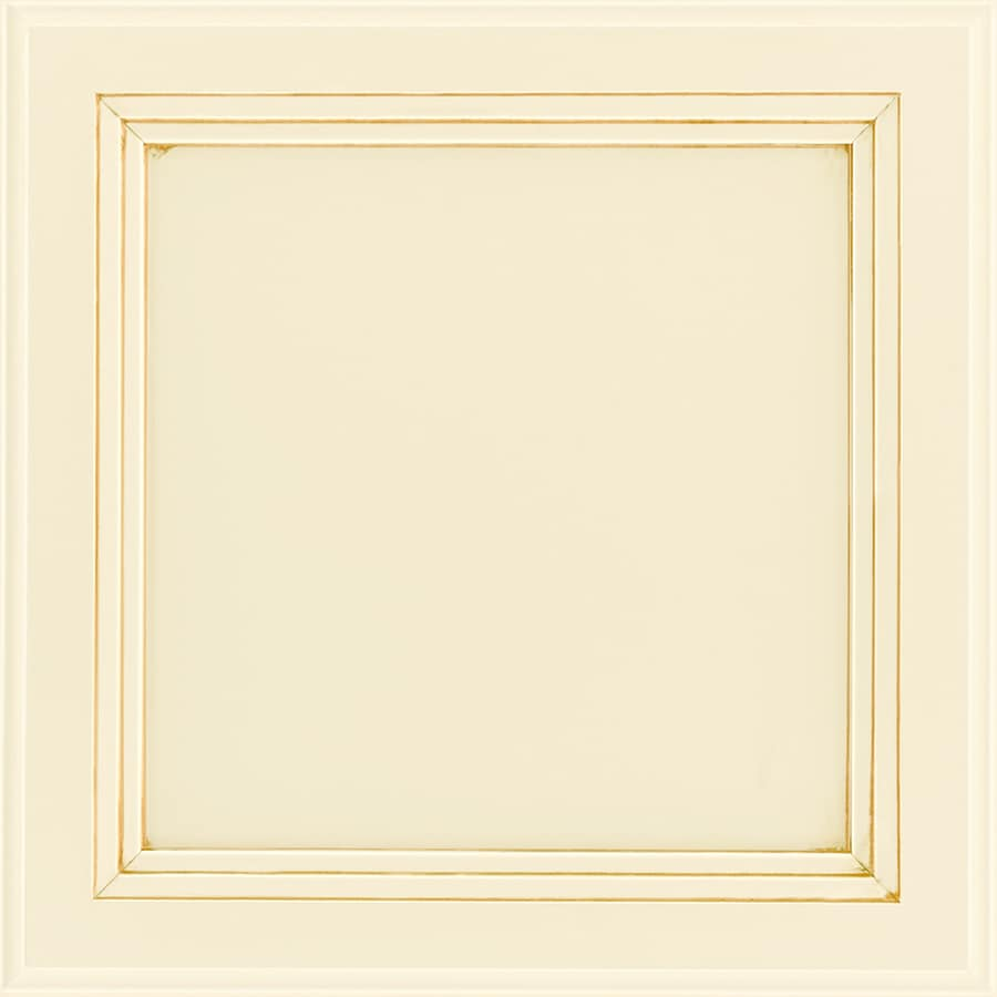Shenandoah Dominion 14.5625-in x 14.5-in Butterscotch Glaze Maple Flat Panel Cabinet Sample