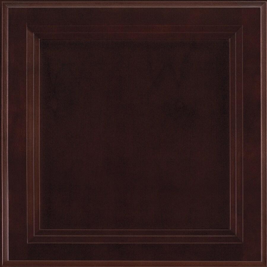 Shenandoah Dominion 14.5-in x 14.5625-in Java Cherry Square Cabinet Sample